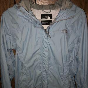 North Face rain/shell jacket